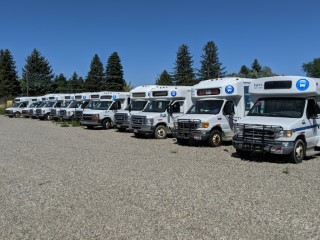 Buses & Equip TRPTA - Idaho Falls
